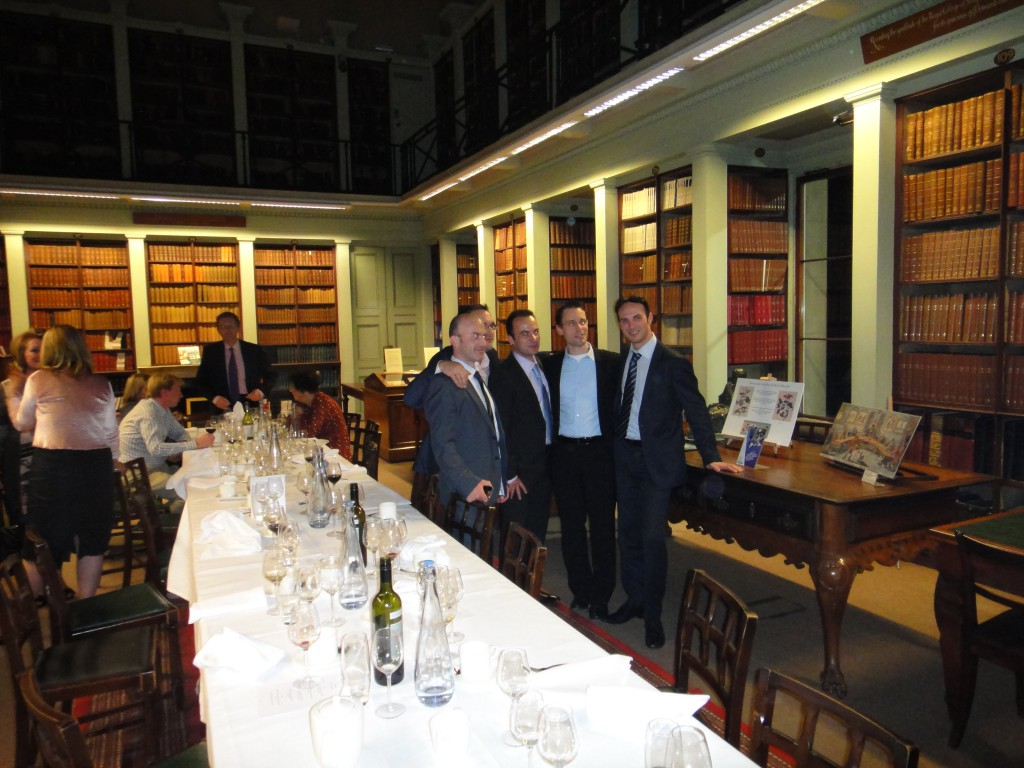 Dott Daniele Pili al Royal College of Surgeons of England
